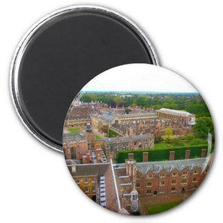 Universidades de Cambridge Imán Redondo 5 Cm