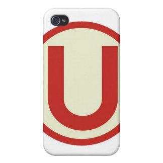 UNIVERSITARIO DE DEPORTES IPOD CASE iPhone 4/4S CASE