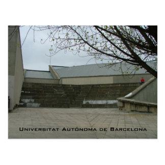 Universitat Autónoma de Barcelona Postcard
