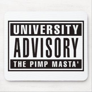 University Advisory The Pimp Masta Mouse Pad