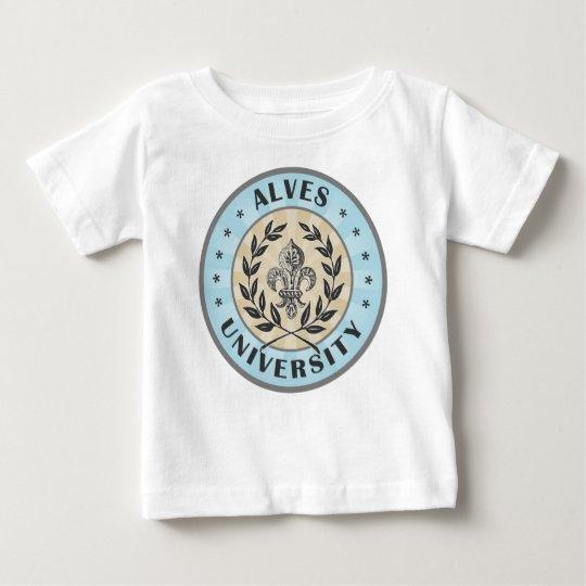 University Alves Light Blue Baby T-Shirt