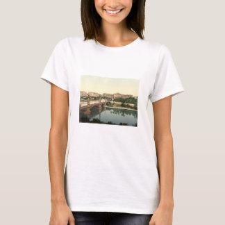 University and Bridge, Strasbourg, Alsace, France T-Shirt