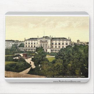University and Royal Garden, Konigsberg, East Prus Mouse Pad