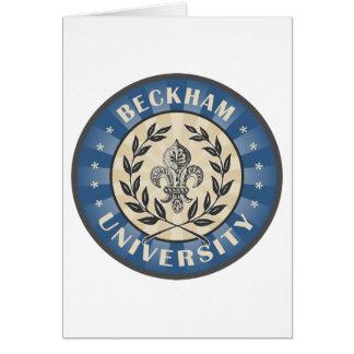 University Beckham Blue Card