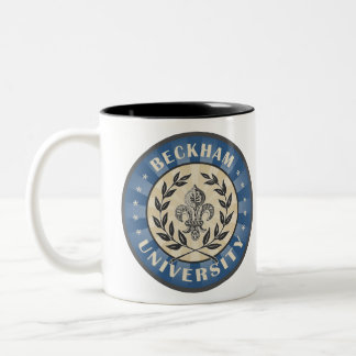 University Beckham Blue Two-Tone Coffee Mug
