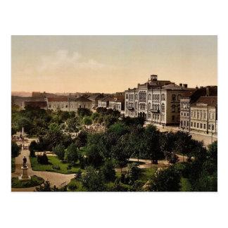 University, Belgrade, Servia classic Photochrom Postcard
