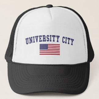 University City US Flag Trucker Hat