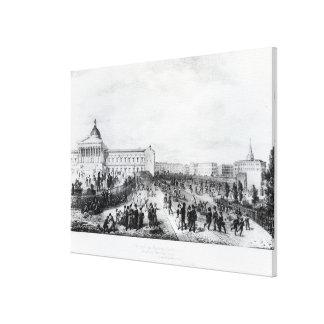 University College School, London, 1835 Stretched Canvas Prints