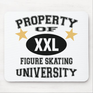 University Figure Skating Mouse Pad