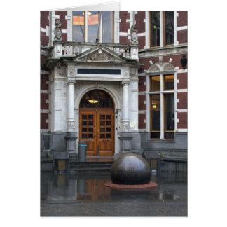 University Hall, Utrecht Card