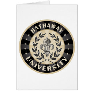 University Hathaway Black Card