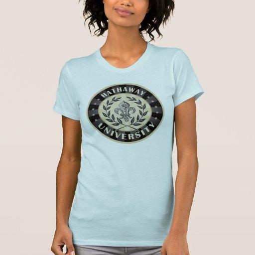 University Hathaway Black Shirt