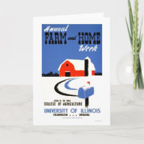 University Illinois Farm 1941 WPA Card