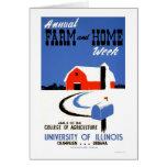 University Illinois Farm 1941 WPA Card