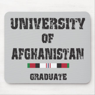 University of Afghanistan graduate distressed 2 Mouse Pad