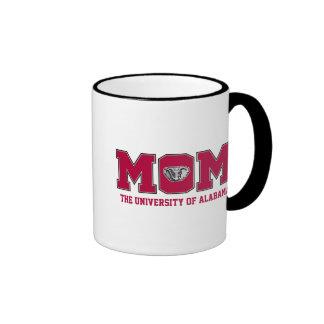University of Alabama Mom Coffee Mugs