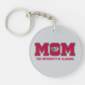 University of Alabama Mom w/ Al Keychain