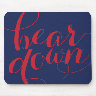 University of Arizona | Bear Down Script Mouse Pad