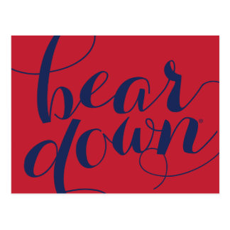 University of Arizona | Bear Down Script Postcard