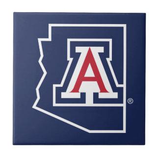University Of Arizona   State Logo Tile
