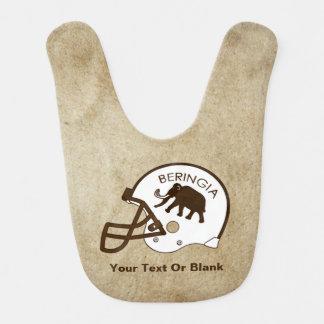 University of Beringia Football Baby Bib