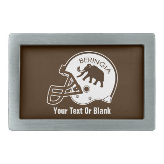 University of Beringia Football Belt Buckle