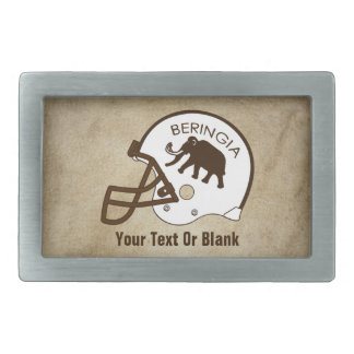 University of Beringia Football Rectangular Belt Buckle
