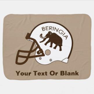University of Beringia Football Swaddle Blanket