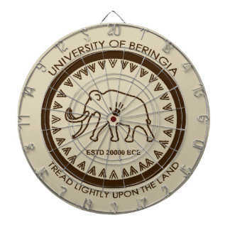University of Beringia Mammoth Dart Board