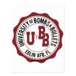 University of Bombs and Bullets Eglin Postcard