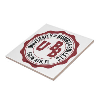 University of Bombs and Bullets Eglin Tile