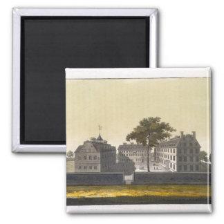 University of Cambridge, Massachusetts, from 'Le C 2 Inch Square Magnet