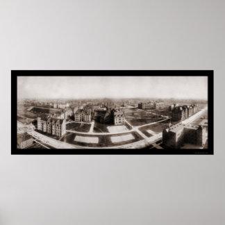 University of Chicago Photo 1904 Poster