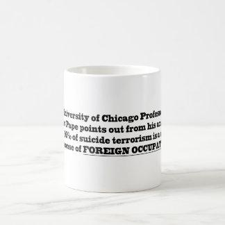 University of Chicago Professor Robert Pape Classic White Coffee Mug