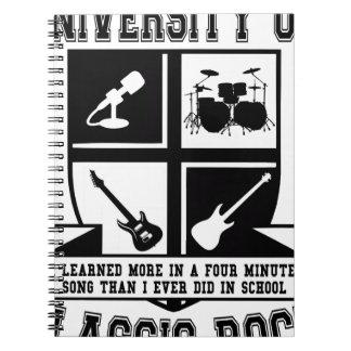 University of Classic Rock Notebook