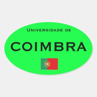 University of Coimbra* Euro-style Sticker