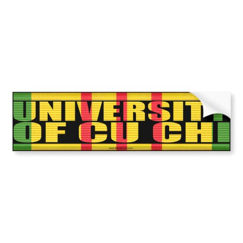 University of Cu Chi Sticker
