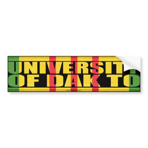 University of Dak To Sticker