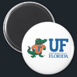 """University of Florida Albert Magnet<br><div class=""""desc"""">Zazzle offers the most exciting and unique gear for the ultimate Florida Gator fan! All of our products are officially licensed and customizable, which makes them perfect for students, alumni, family, fans, and faculty. Whether you are gearing up for tailgating, hosting a party for a Florida fan, or decorating your...</div>"""