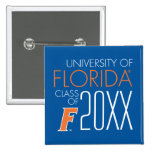 University of Florida Class Year 2 Buttons