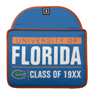 University of Florida Class Year Sleeve For MacBook Pro
