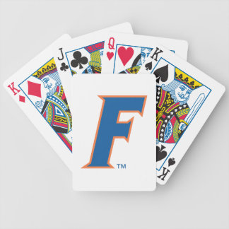 University of Florida F Bicycle Playing Cards