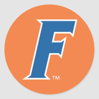 University of Florida F Classic Round Sticker