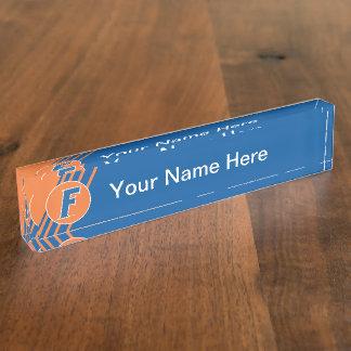 University of Florida F Nameplate