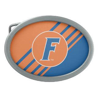 University of Florida F Oval Belt Buckle