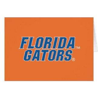 University of Florida Gators Card