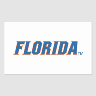 University of Florida Gators Rectangular Sticker