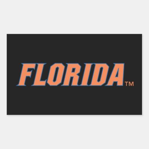 University of Florida Gators Rectangular Sticker