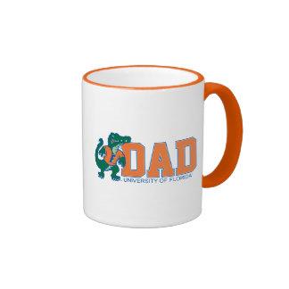 University of Forida Dad Ringer Coffee Mug