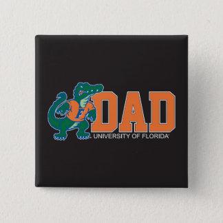University of Forida Dad Pinback Button
